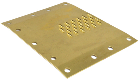 Header Plates 0.8mm, 0.9mm, 1.0mm, 1.2mm, 1.6mm, 2.5mmmm thick